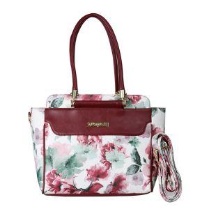 Beautiful stylish summer spring flower print hand bag for women & girls