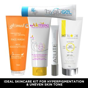 IDEAL SKINCARE KIT FOR HYPERPIGMENTATION & UNEVEN SKIN TONE