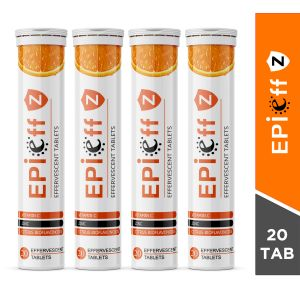 Epieff Z Effervescent 20 Tablets (Pack of 4)