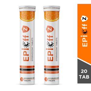 Epieff Z Effervescent 20 Tablets (Pack of 2)