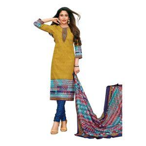 Women's cotton dress material