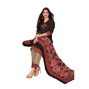Women's designer unstiched dress material