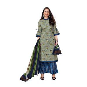 Women's stylish cotton dress material