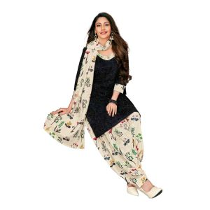 Women's casual printed unstiched dress material