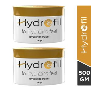 Hydrofil Moisturizing Cream -500 gm (Pack of 2)