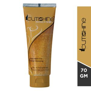 Cutishine Face Wash For Acne&Oily Skin-70gm