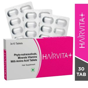 Hairvita Plus Hair Supplement Tablets-30 Tablets