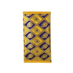 Mobile pouch- Traditional & ethnic raw silk bag for girls