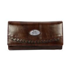 Women's wallet - Pure leather solid pattern