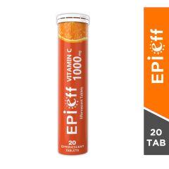 Epieff Vitamin C Skin Lightening Effervescent Tablets-20 Tablets