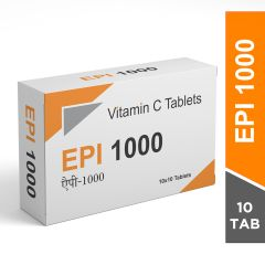 EPI 1000 Vitamin C Skin Lightening Tablets-10 Tablets