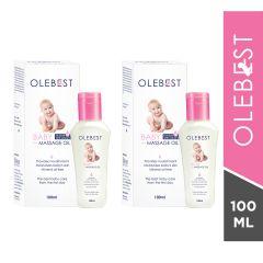 Olebest Baby Massage Oil-100ml(pack of 2)