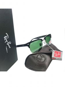 Classy Rectangle Sunglasses (Green)