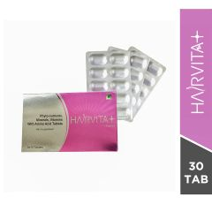 Hairvita Plus Hair Supplement Tablets-10 Tablets