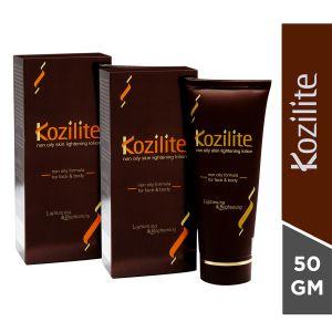 Kozilite Skin Lightening Lotion 50gm (Pack of 2)