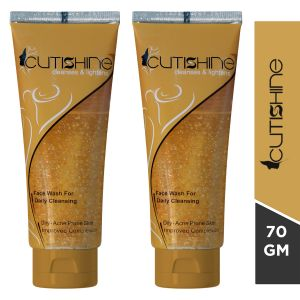 Cutishine Face wash For Acne&Oily Skin-70gm (Pack of 2)