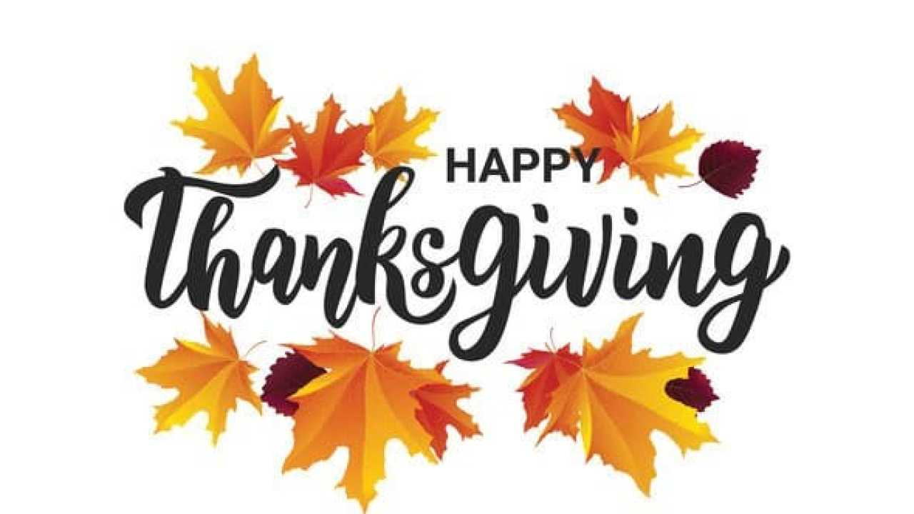 HAPPY THANKSGIVING – TODAY AND ALL THE YEAR ROUND! - Blog
