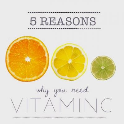 5 Reasons you should take vitamin C